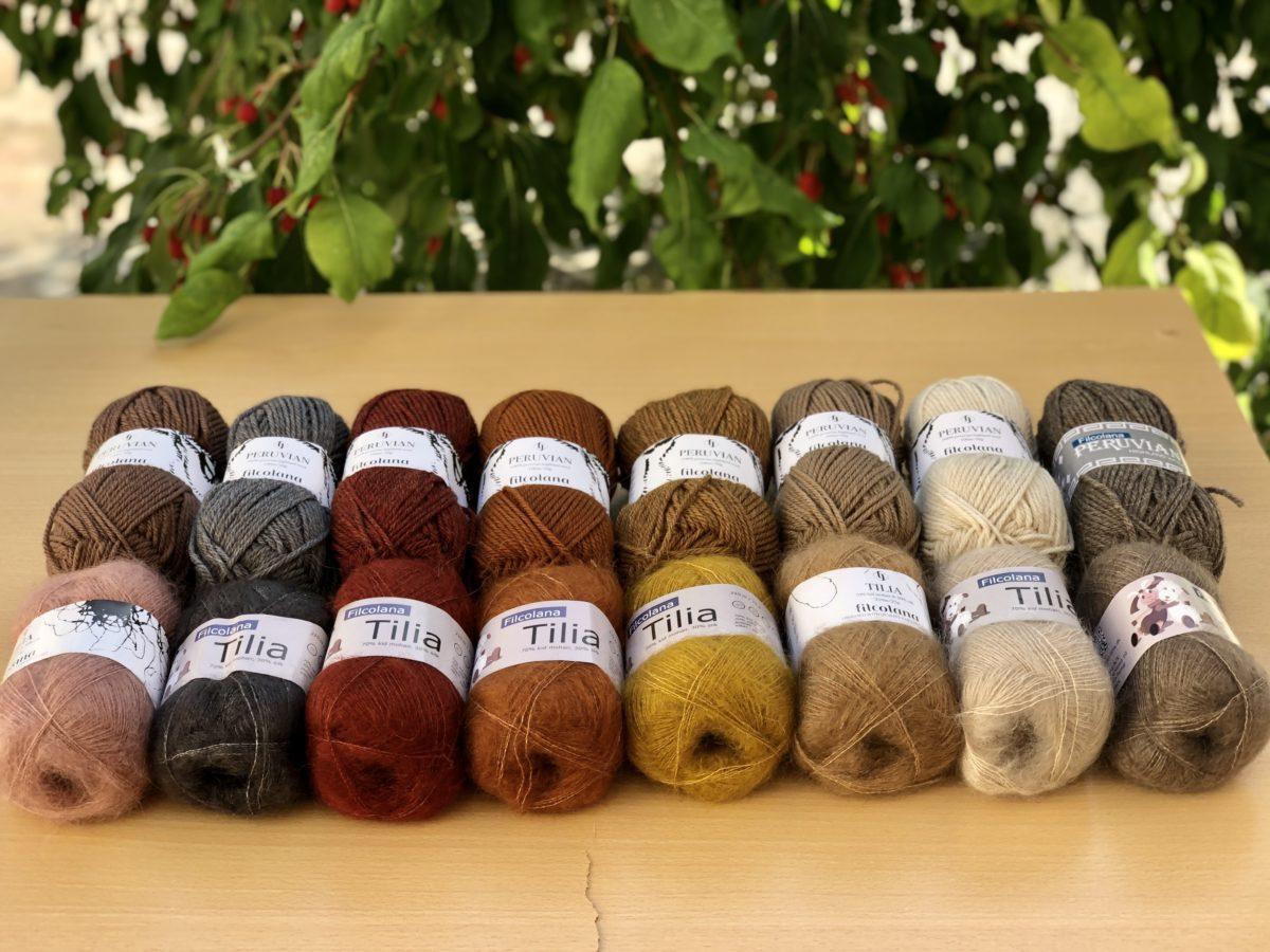 Des idées pour tricoter Peruvian et Tilia ensemble